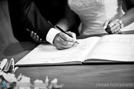 wedding register marriage register infomation required by home affairs