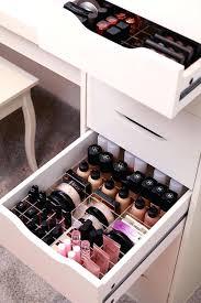 ikea makeup organizer drawer makeup organizer acrylic drawers uk ideas ikea
