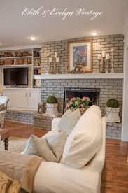 French Country Living Room by Best 20 Update Brick Fireplace Ideas On Pinterest Painting
