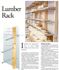 lumber rack plans u2022 woodarchivist