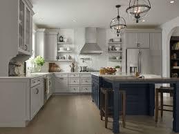 kitchen cabinets white top gray bottom medallion cabinetry kitchen cabinets and bath vanities