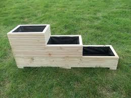 wooden planters diy build wooden flower planters wooden garden