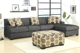 ottoman and matching pillows ottoman with matching pillows casual 3 piece ash black faux linen
