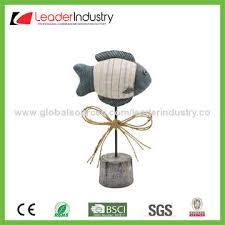 china new wholesale resin seahorse ornament nautical decor