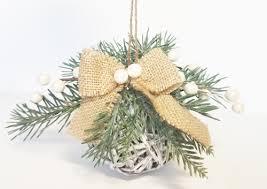 winter rustic grapevine ornaments helmar creative team