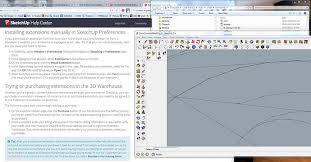 download google sketchup tutorial complete zip how to install an extension tutorial extension warehouse