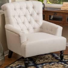 Beige Club Chair Alcott Hill Verona Tufted Fabric Armchair U0026 Reviews Wayfair