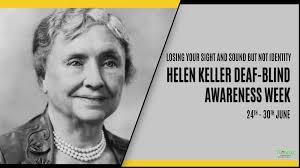 Deaf Blind Movie Helen Keller Deaf Blind Awareness Week Turacoz Healthcare Solutions