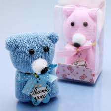 teddy towel favor baby shower favors baby shower favors