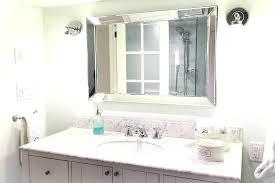 decorate a bathroom mirror home depot bathroom mirror frames framed mirrors in decorations 8