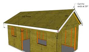 How To Build A Detached Garage Howtospecialist How To by How To Build A Garage Roof Howtospecialist How To Build Step