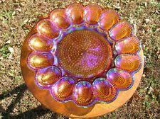 carnival glass egg plate vintage carnival glass egg plate ebay