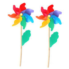wooden garden windmills u0026 wind spinners ebay
