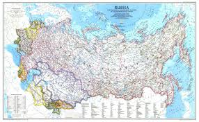 Russian Map Map Of Russia Rich Lion Ltd