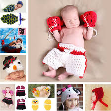 baby boy photo props crochet baby boy boxer photography props handmade knitted kids