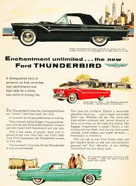 1955 ford thunderbird ad classic cars today online