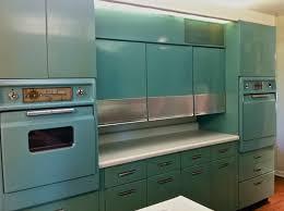 1950s Kitchen Design Metal Kitchen Cabinets Kitchen Decor Design Ideas