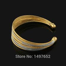 aliexpress buy new arrival men jewelry gold silver new arrival gold bangles18k gold silver plated bangles