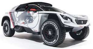 new peugeot 3008 peugeot 3008 dkr to lead 2017 dakar rally campaign