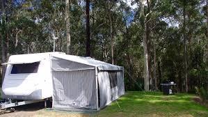 Luxury Caravan by Glamp Camp In Wombat Bawley Bush Retreat