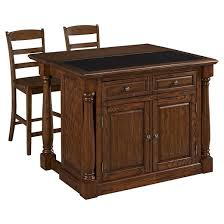 monarch kitchen island monarch kitchen island with granite top two stools oak home