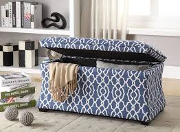Custom Fabric Ottoman by Storage Ottoman For Bedroom Descargas Mundiales Com