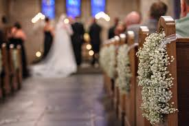 pew decorations for weddings staggering pews decorations wedding photo inspirations uk pew