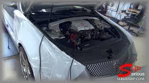 cadillac cts v pulley upgrade cadillac cts v pulley upgrade and engine programming 574 rwhp