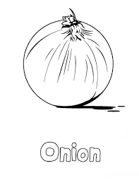 onions coloring pages to kids learn to coloring