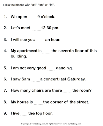 fill in the blank worksheets worksheets