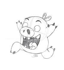 bad piggy sketch by indy1988 on deviantart