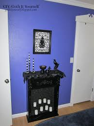 Purple Gothic Bedroom by Giy Goth It Yourself Bedroom Love The Candles Black