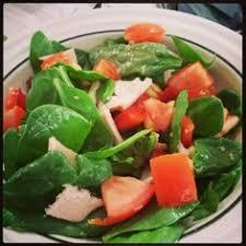 spinach and kidney bean salad salads pinterest kidney beans