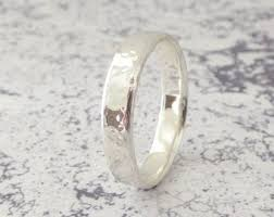 silver wedding ring silver wedding band etsy