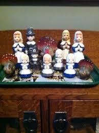 vintage gurley candle pilgrim boy thanksgiving pilgrim and
