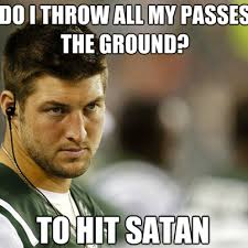 Tebow Meme - sports memes that s why tebow does that meme sports memes