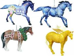 trail of the painted ponies 2004 ornament set