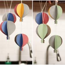 hot air balloon decorations diy hot air balloon mobile party decor just lovely baby