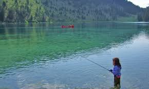 Montana lakes images Cliff and wade lakes montana fishing camping boating alltrips jpg