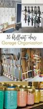 garage decorating ideas 16 brilliant diy garage organization ideas garage organization