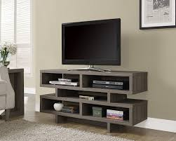 tv stand for 48 inch tv amazon com monarch specialties dark taupe reclaimed look hollow