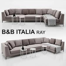 3d Sofa 3d Sofa B And B Italia Ray Cgtrader