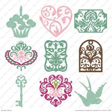 cricut damask décor cartridge cricut shop