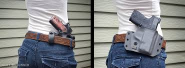 Most Comfortable Concealed Holster Guide To Holsters For Women Know Your Options