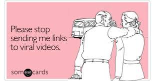 stop sending me links to viral friendship ecard