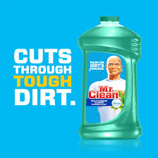 Clean Cleaner by Mr Clean Liquid All Purpose Cleaner With Febreze Meadows And Rain