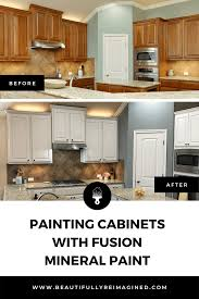 does paint last on kitchen cabinets painting cabinets with fusion mineral paint beautifully