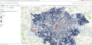 Crime Rate Map Predicting London Crime Rates Using Machine Learning
