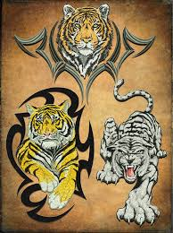 tigers embroidery designs pack 1 collection of 3 embrostitch