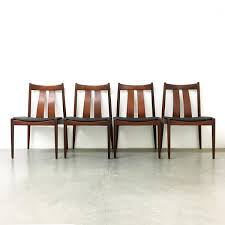 Danish Chair Design by Danish Dining Chairs From Bramin 1960s Set Of 4 For Sale At Pamono